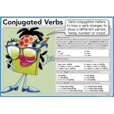 Conjugated verbs