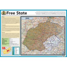 Map of Free State