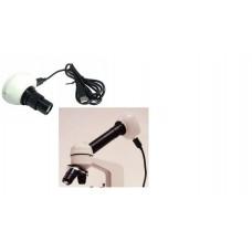 Digital camera 0.3 megapixel for microscope including software