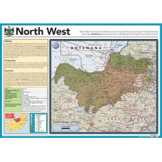 Map of North West