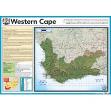 Map of Western Cape